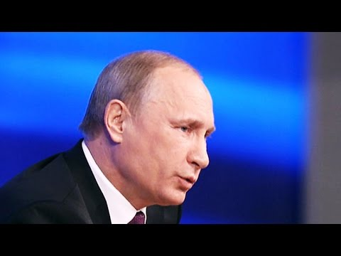 Vladimir Putin likens Crimea takeover to bear guarding his territory