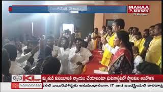 Motkupalli Narasimhulu Activities Tries To Stop TDP Mini Mahanadu At Bhuvanagiri