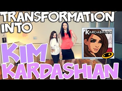 MY TRANSFORMATION INTO KIM KARDASHIAN