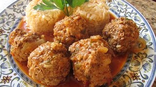 Albondigas En  Chile  Chipotle   ( Meatballs  In Chipotle Sauce )