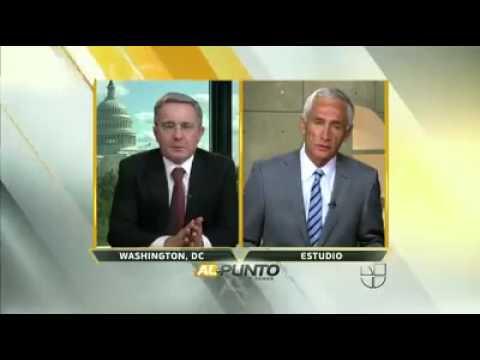 JORGE RAMOS entrevista a ÁLVARO URIBE VÉLEZ