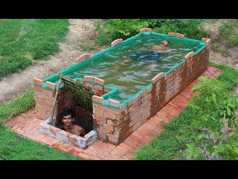 Build Swimming Pool On home Underground - YouTube