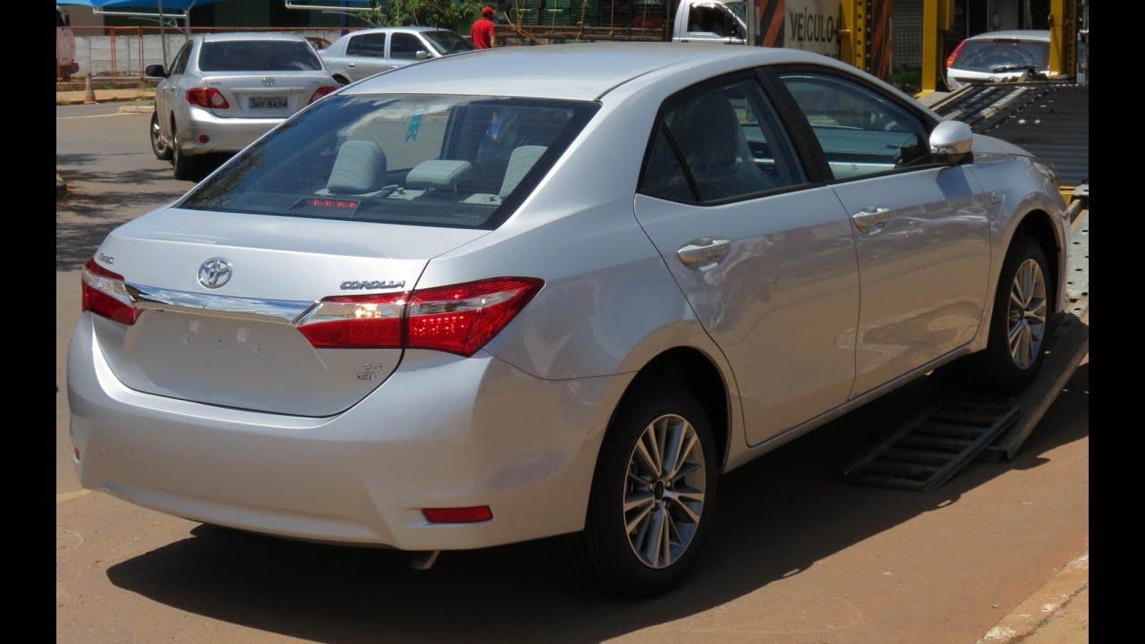 Novo Corolla Xei 2015 Detalhes Www Car Blog Br Youtube