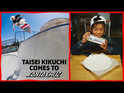 Taisei Kikuchi in Santa Cruz! | Santa Cruz Saturdays