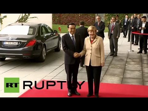 LIVE Merkel and Li Keqiang hold a joint press conference