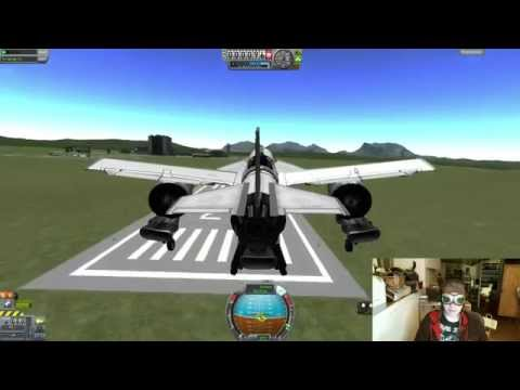 Kerbal Space Program - Livestream - Seaplane Development