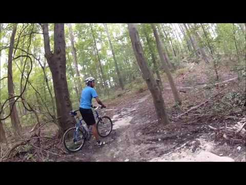 Mountain Biking at Gloucester County College