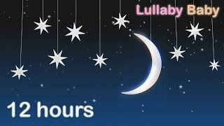 ☆ 12 HOURS ☆ LULLABIES for babies to go to sleep ♫ INSTRUMENTAL Lullaby Baby Songs to Sleep