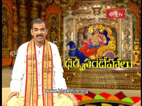 Remedies for Ashtama Shani and Elinati Shani | Dharma sandehalu - Episode 506_Part 2
