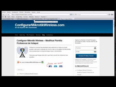 Configurar Mikrotik Wireless - Mikrotik y Nano Station Ubiquiti