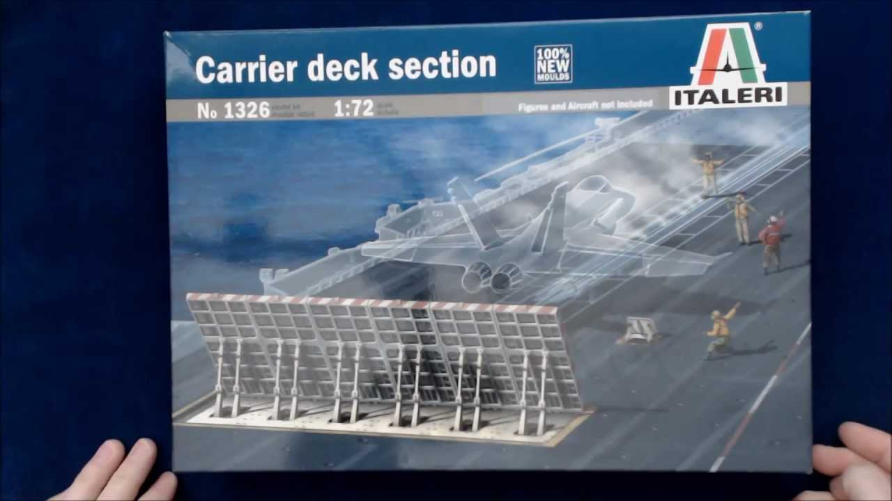 Italeri Carrier Deck Section  1 72