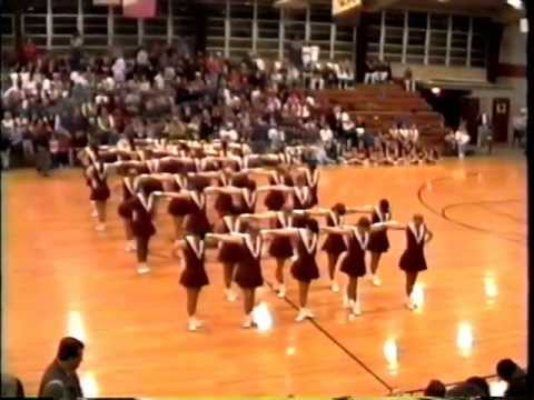 """Benton High School Pep Steppers """"Can Can"""""""