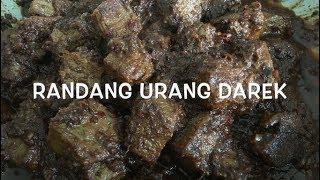 Rendang Padang - Cara Menghitamkan Rendang Daging - Randang Darek ~ Indonesian Beef Rendang II CLK