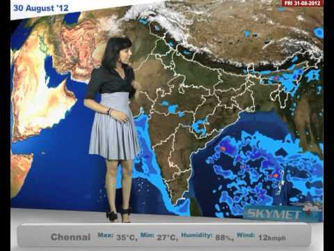 Skymet Weather Report - India 30-08-2012