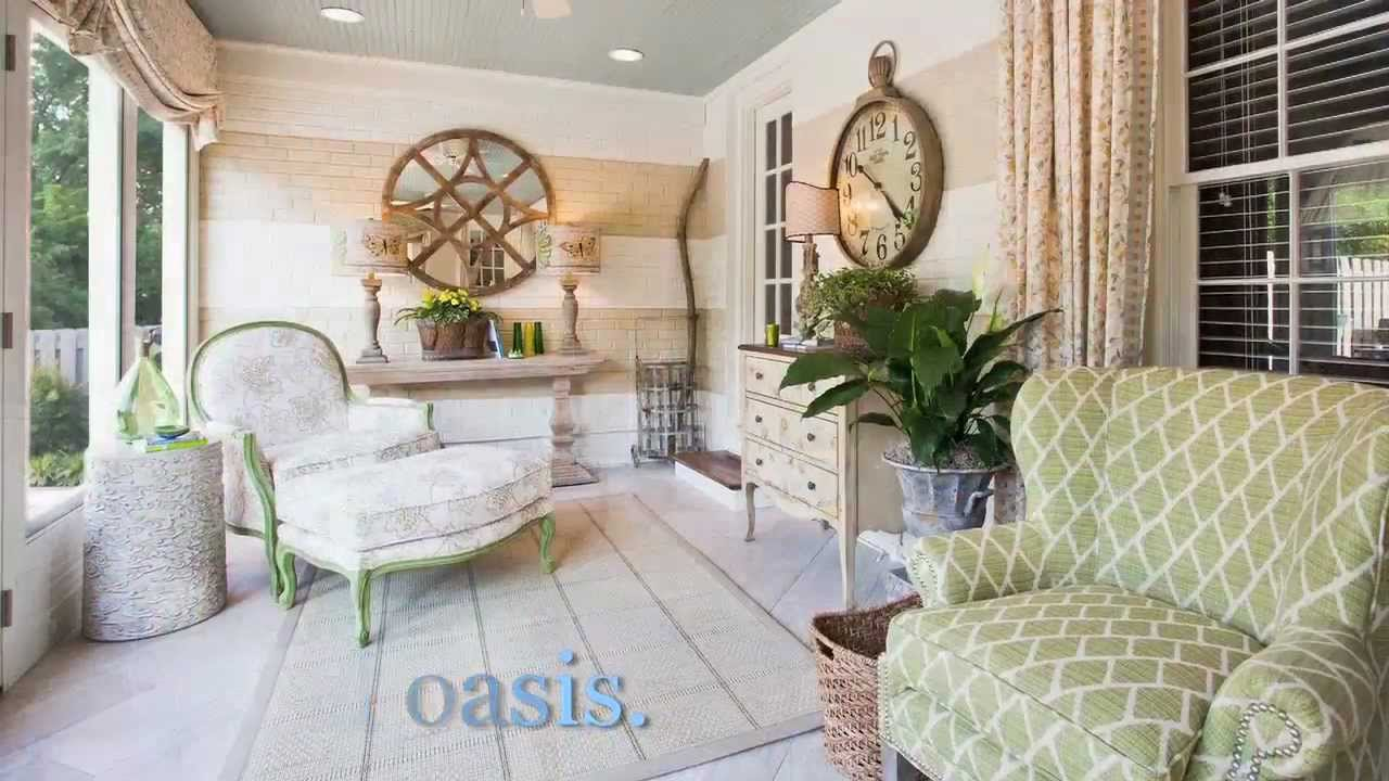 Small space big impact brand residence sunroom by eric ross interiors youtube - Amazing image of sunroom interior design and decoration ...