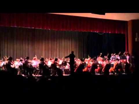 H. Frank Carey High School Orchestra - We Wish You A Klezmer Christmas