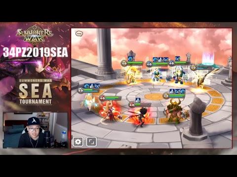 [EN][Live][SEA Tournament 2019] - Elimination Round Day 2