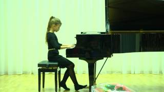 Vasilisa Evstigneeva (8yo) - Edvard Grieg. Poetic Tone Picture op 3 no.1 in e-minor