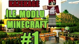 Kazekage ile Modlu(Buildcraft,ComputerCraft) Survival - Bölüm 1