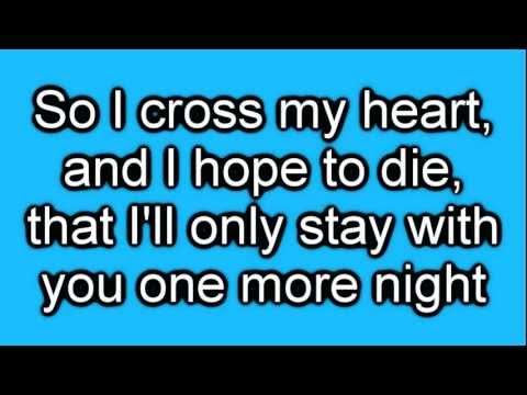 Maroon 5 - One More Night [lyrics On Screen] Hd video