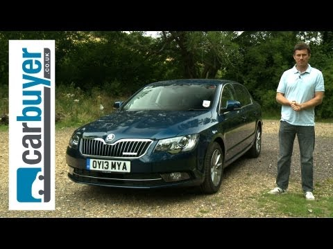 Skoda Superb hatchback 2013 review - CarBuyer