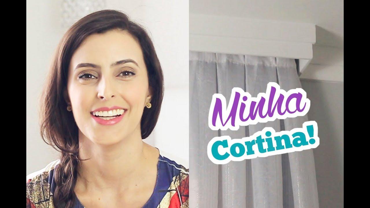 Cortina blackout com trilho sui o bruna dalcin youtube - Modelos de estores para salon ...