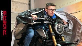 2019 Honda CB650R Unboxing & Engine Start