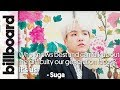 A Word From BTS' Suga for The Difficulties Millennials Face   Billboard