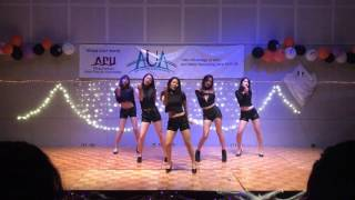 Up&Downd(위아래)-EXID(이엑스아이디) Dance covered by K-muse from APU 立命館アジア太平洋大学@Halloween Party 2016