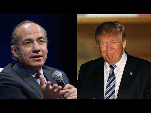 Former Mexican president slams Trump's 'stupid ...