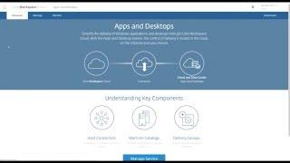 Demo: Citrix Cloud XenApp and XenDesktop Service