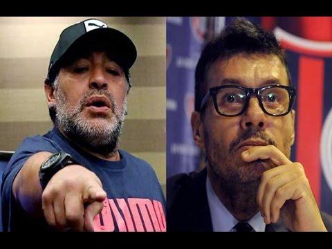 Guerra entre Diego Maradona y Marcelo Tinelli