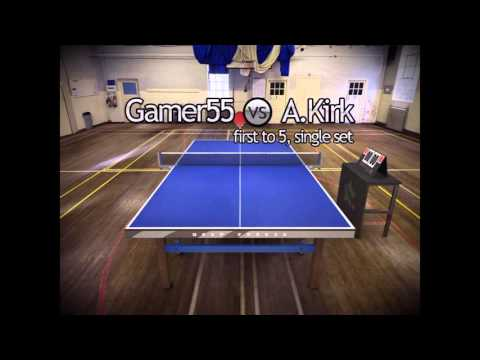 Touch Table Tennis Gameplay #1