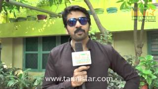 Ganesh Prasad At Karaiyoram Movie Team Interview