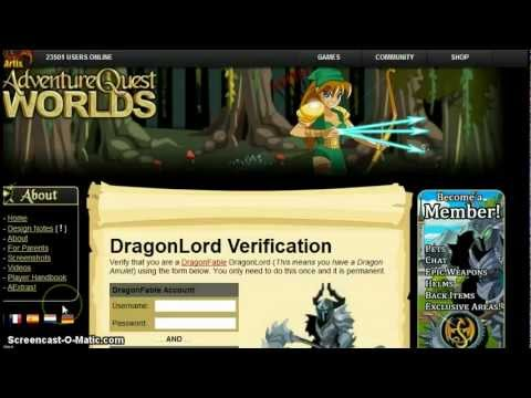 AQW How to get dragonlord class