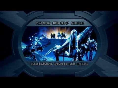 Starship Troopers 2 Hero Of The Federation Menu DVD