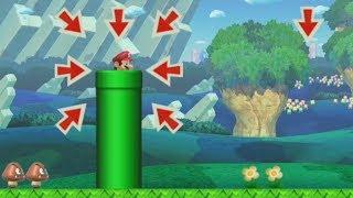 ADVICE COUNCIL ~ EASY 100 Mario Challenge ~ SUPER MARIO MAKER ~ NO COMMENTARY