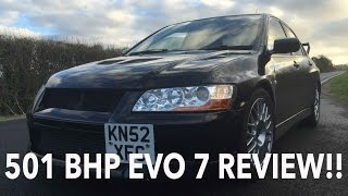 Owning A 501 BHP Evo 7, Modified Car Review