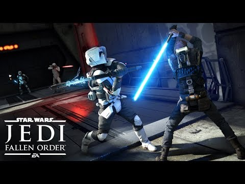 Star Wars Jedi Fallen Order Official Gameplay Demo в EA PLAY 2019