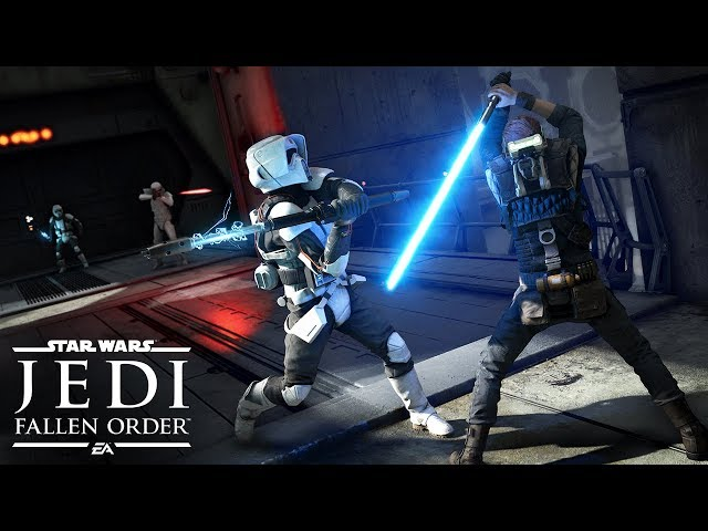 Star Wars Jedi: Fallen Order Official Gameplay Demo – EA PLAY 2019 thumbnail