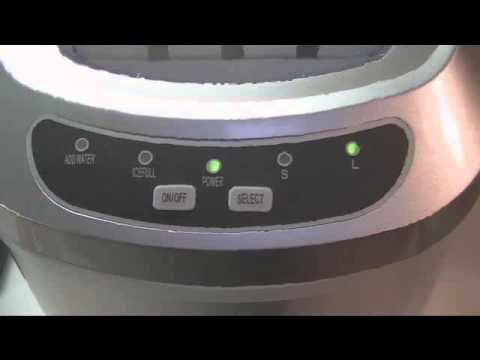 Igloo Portable Countertop Ice Maker Youtube : Igloo Portable Ice Maker Review - YouTube
