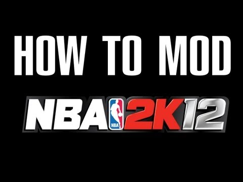 How To MOD NBA 2K12- Rosters. Start Up Screens. Players. Shoes