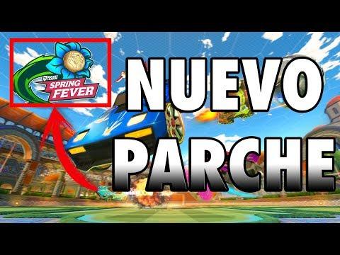 NUEVO PARCHE DE PRIMAVERA ~ Rocket League