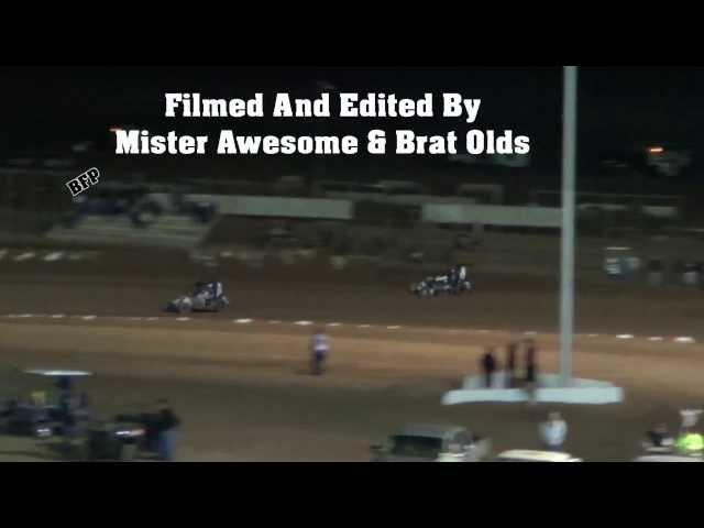Mr Awesome's Minute -Nov 17th 2013- Midget Finish