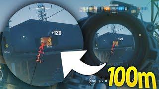 100 meter One Tap | Rainbow Six Siege