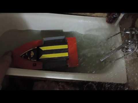 кораблик для рыбалки с водометом