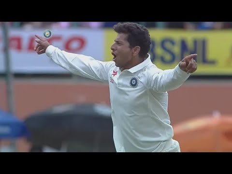India vs West Indies || Kuldeep Yadav ने उखाड़े West indies के 5 wicket, WI 185/8