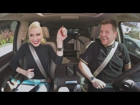 Watch Gwen Stefani Sing Jam With James Corden in Fun 'Carpool Karaoke' Teaser