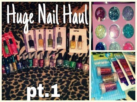 Nail haul pt.1: Ebay,Dollar tree, and MORE !!