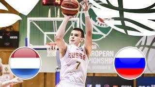 Нидерланды до 20 : Россия до 20